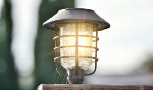 Landscape Lighting Design Fixture Lit Up